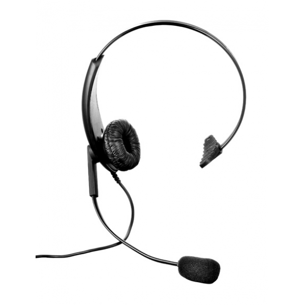 Headband Headset for Vertex Single Pin 12RHS226Y2