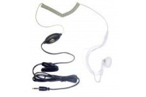 Cobra covert  two wire acoustic tube earpiece mic