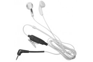 MP3 style covert earbud & PTT microphone