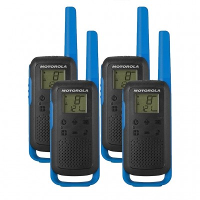 Motorola T62 Quad Pack Walkie Talkies