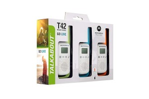Motorola T42 Triple Pack (Walkie Talkies)