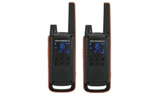 Motorola T82 (Twin Pack) Walkie Talkies