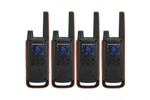 Motorola T82 Extreme (Quad Pack) Walkie Talkies