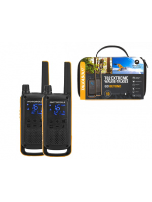 Motorola T82 Extreme (Twin Pack) Walkie Talkies