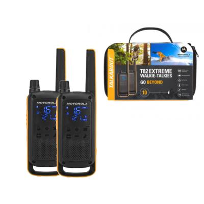 Motorola T82 Extreme (Twin Pack) Walkie Talkies