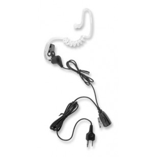 Clear Acoustic Tube Earpiece Microphone