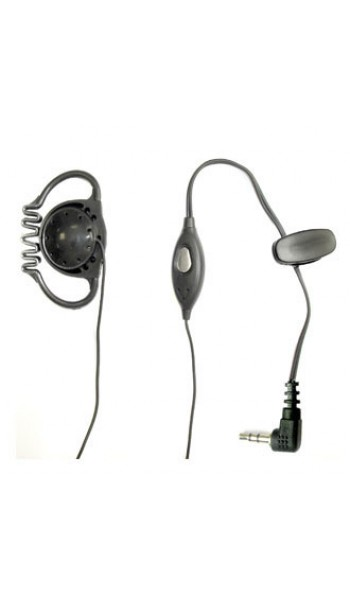 Cobra D Shape Earpiece / Microphone