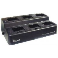 Icom BC121 Rapid 6 Way Charger