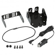 Kenwood KVC-22W   TK3501 In Vehicle charger lead  and charger base mounting kit