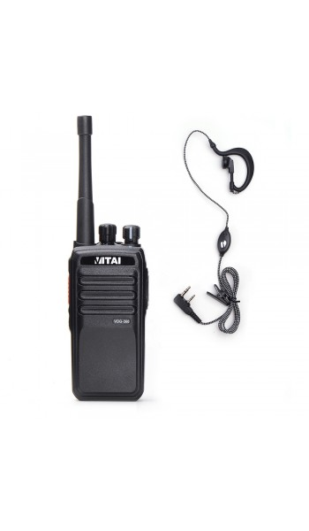 Vitai VDG-360 Digital Radio + G Shape Earpiece/Mic