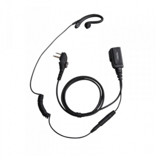 Hytera EHM19 C Shape earpiece and PTT microphone