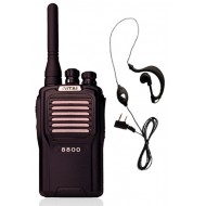 Vitai 8800 (Including  G Shape Earpiece/Microphone) two way radio